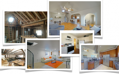 Before and After of House Remodel on MLK